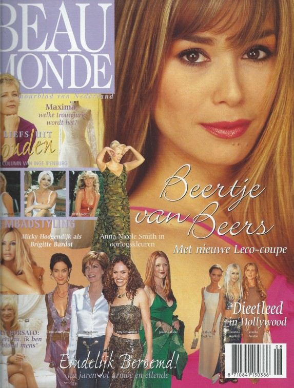 Beertje van Beers cover Beau Monde