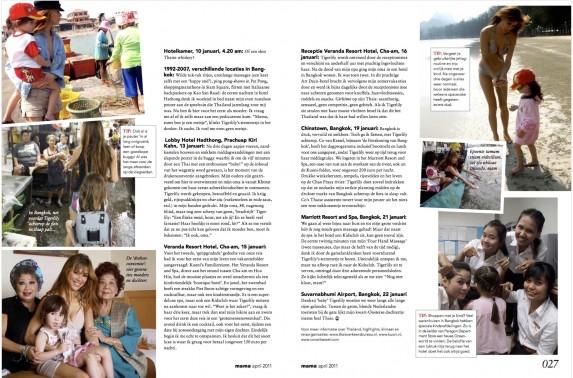 Beertje van Beers in Bangkok, reisreportage Mama Magazine